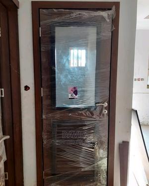 Wooden Glass Door | Doors for sale in Lagos State, Ikeja