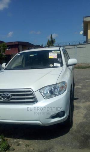 Toyota Highlander 2008 White   Cars for sale in Lagos State, Alimosho