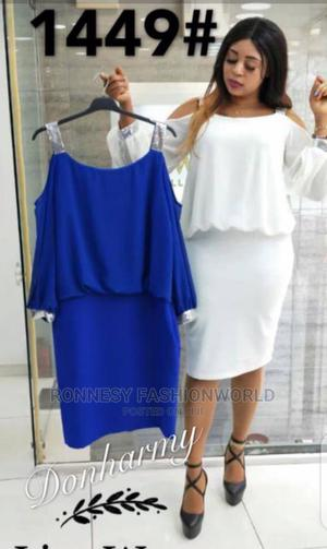 Trendy Female Quality Cold Shoulder Gown | Clothing for sale in Lagos State, Ikeja