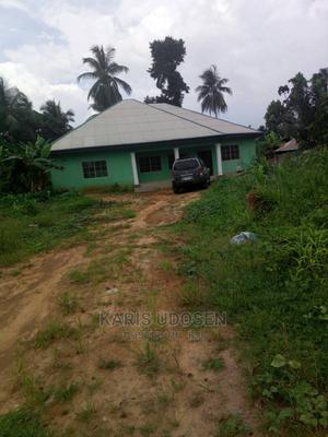 A 4 Bedroom Bungalow With Large Piece of Land | Houses & Apartments For Sale for sale in Akwa Ibom State, Uyo