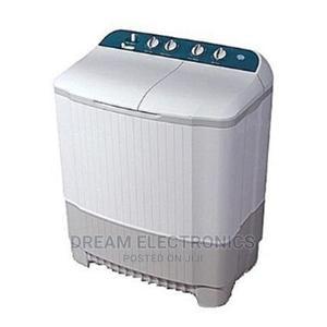 Hisense Top Loader Manual Washing Machine 10kg Twin Tub   Home Appliances for sale in Lagos State, Ikeja