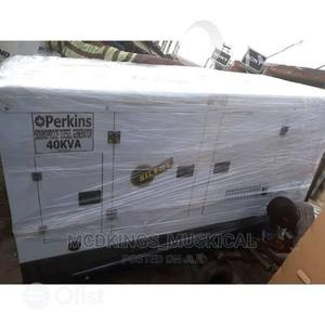 Perkins Sound Proof Diesel Generator 40kva | Electrical Equipment for sale in Lagos State, Ojo
