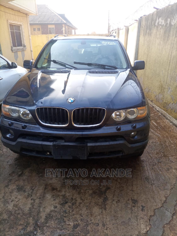 Archive: BMW X5 2006 3.0i Blue