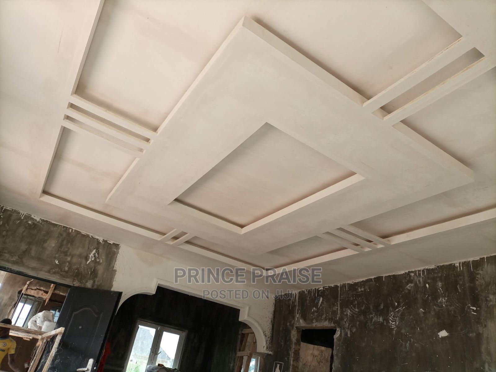 Archive: Plaster of Paris ( P.O.P) Ceiling, TV Units Wall Decor