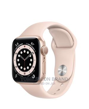 Apple Iwatch Series 6 Gold Aluminum 44mm - Gps+Cellular. | Smart Watches & Trackers for sale in Lagos State, Ikeja