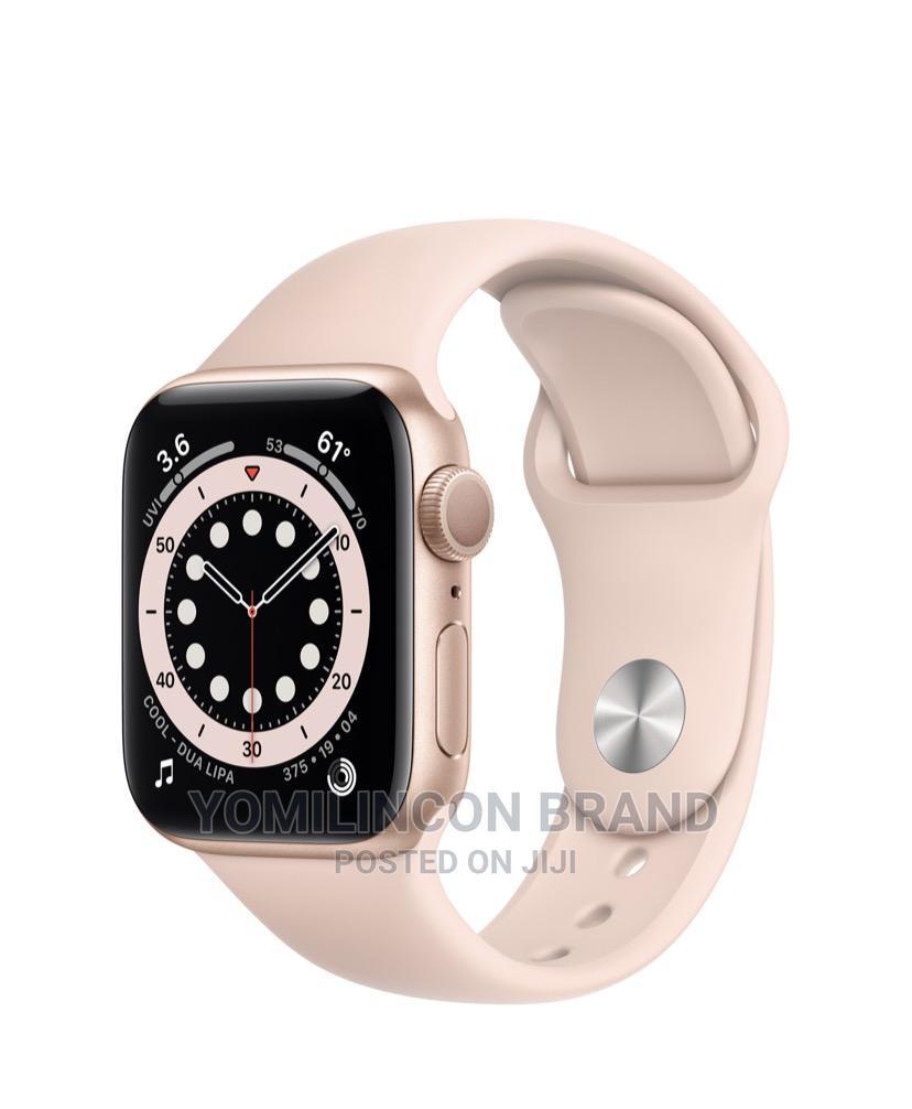 Apple Iwatch Series 6 Gold Aluminum 44mm - Gps+Cellular.