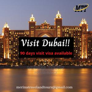 Dubai 90 Days Visit Visa   Travel Agents & Tours for sale in Abuja (FCT) State, Asokoro