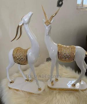 Deer Decorative Figurine Statue | Home Accessories for sale in Lagos State, Ikeja