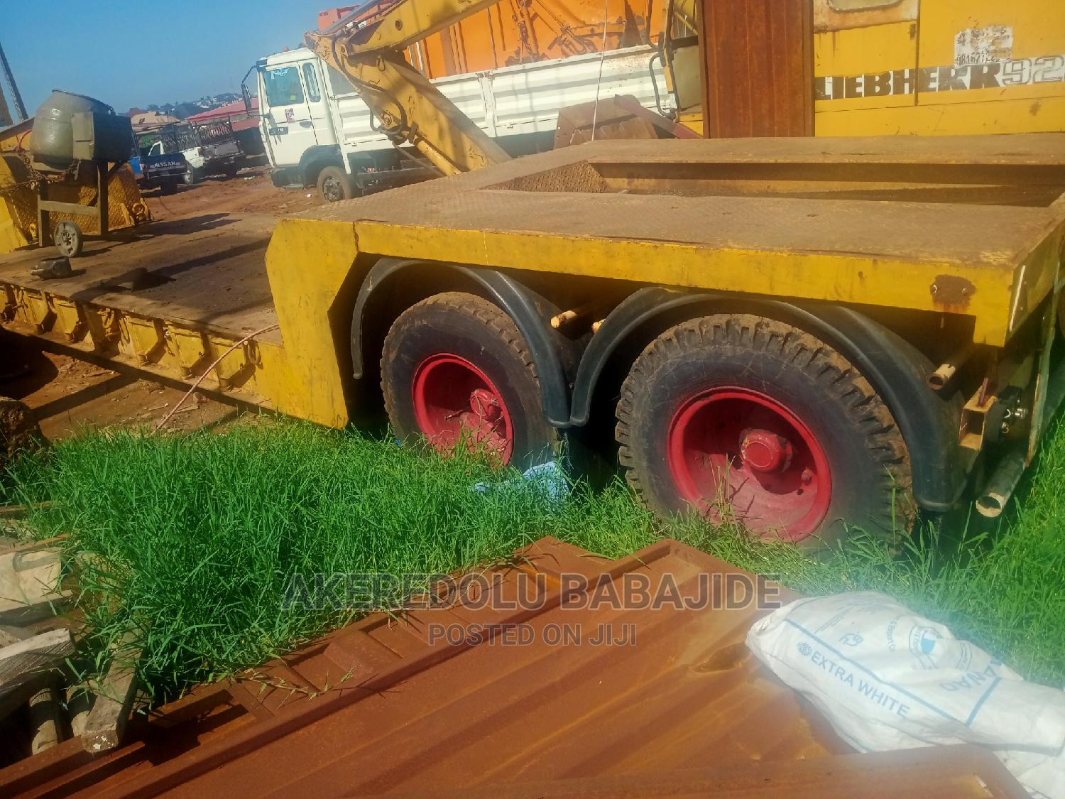 This Is 60ton Lowbed Tokunbo