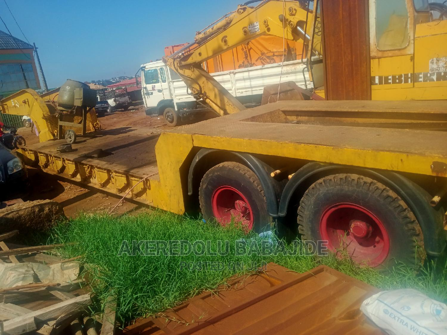 This Is 60ton Lowbed Tokunbo | Trucks & Trailers for sale in Ikeja, Lagos State, Nigeria