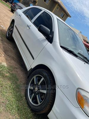 Toyota Corolla 2004 LE White   Cars for sale in Lagos State, Magodo