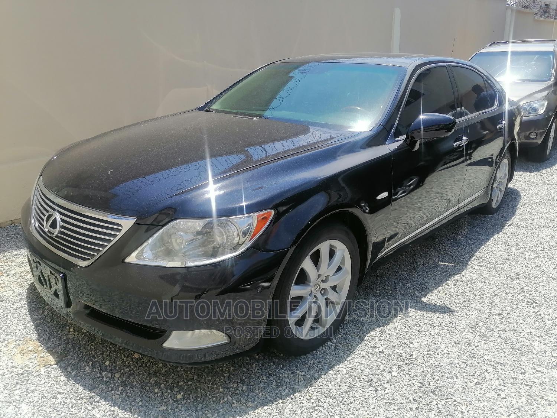 Archive: Lexus LS 2007 460 L Luxury Sedan Black