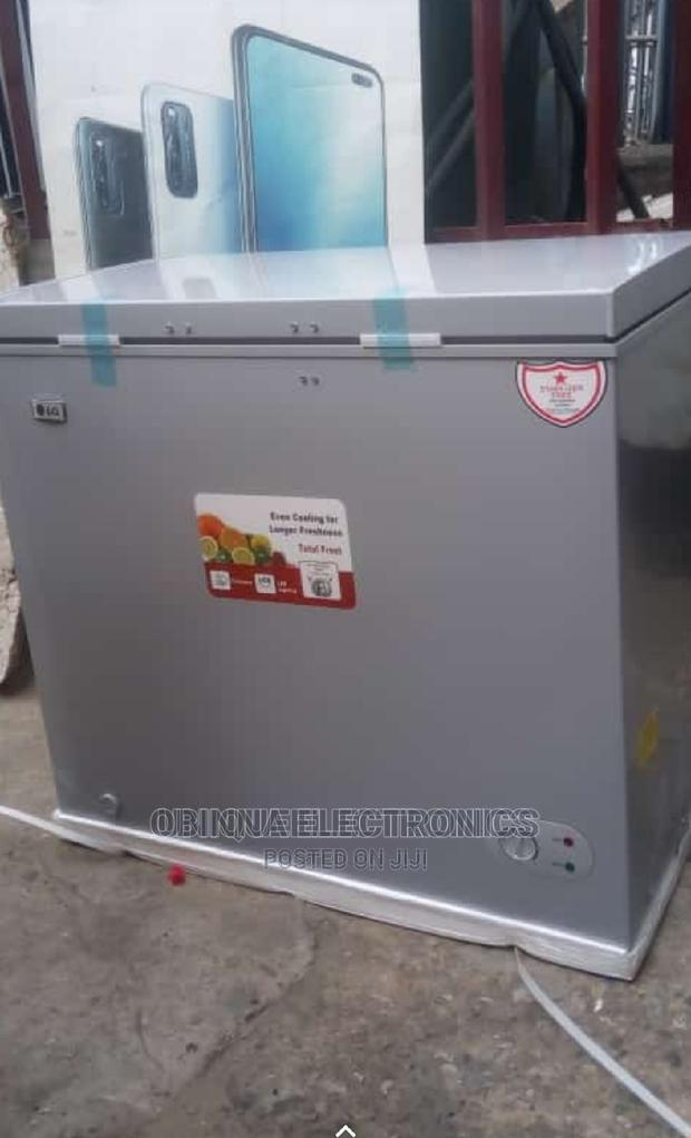 Brand New LG Chest Freezer,350litters, External Compressor | Kitchen Appliances for sale in Ojo, Lagos State, Nigeria
