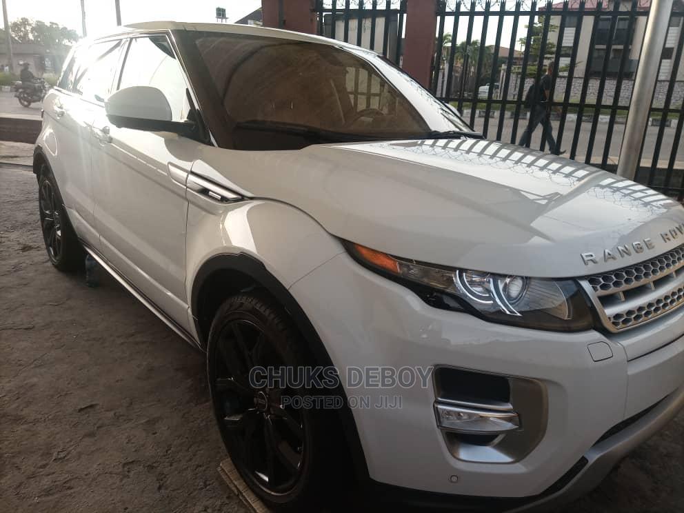 Land Rover Range Rover Evoque 2015 White   Cars for sale in Amuwo-Odofin, Lagos State, Nigeria