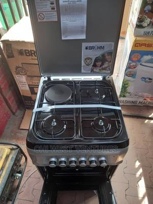 Bruhm 4 Burner Gas Cooker With Oven and Grill   Kitchen Appliances for sale in Lagos State, Ikeja