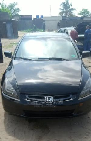 Honda Accord 2005 2.0 Comfort Automatic Black | Cars for sale in Lagos State, Ajah