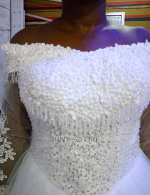 Stones and Beaded Wedding Gown | Wedding Wear & Accessories for sale in Abuja (FCT) State, Mpape