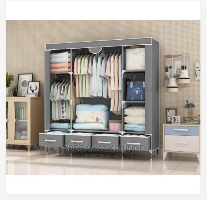 Archive: Quality Storage Wardrobe + 4 Drawers L-150x B-45x H170cm