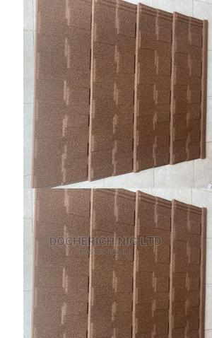 Brown Shingle Stone Coated Roofing Sheet From Mr Donald   Building Materials for sale in Lagos State, Ajah