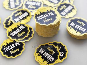 Print Stickers-Print and Cut Stickers | Stationery for sale in Lagos State, Surulere