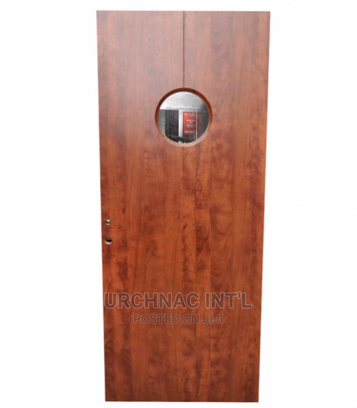 Wooden Glass Kitchen Door