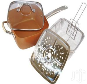 Original Copper Chef Pan Set | Kitchen & Dining for sale in Lagos State, Alimosho
