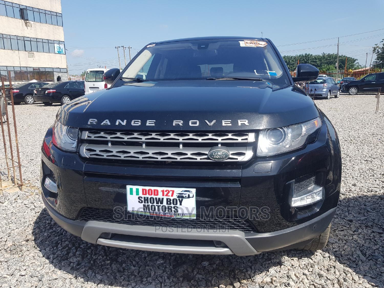 Land Rover Range Rover Evoque 2015 Black