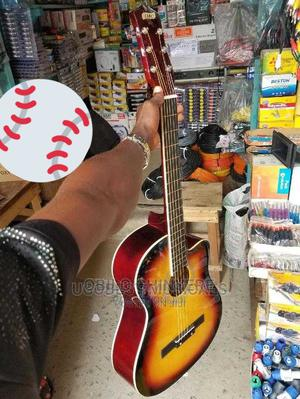 39 Inches Acoustic Box Guitar   Musical Instruments & Gear for sale in Lagos State, Mushin