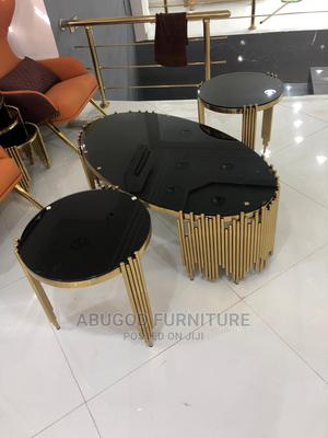Center Table and Side Stools   Furniture for sale in Lagos State, Ikeja