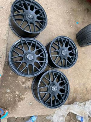 Size 20 Inches Smart Black for Mercedes Benz AMG Available   Vehicle Parts & Accessories for sale in Lagos State, Mushin