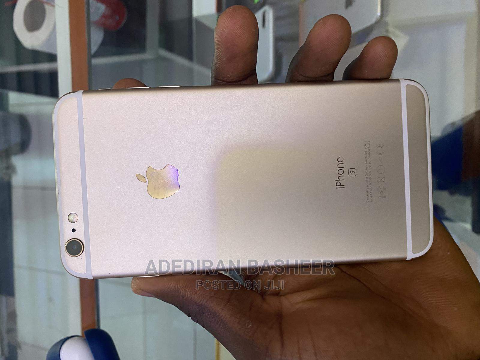 Apple iPhone 6s Plus 128 GB Gold   Mobile Phones for sale in Ibadan, Oyo State, Nigeria