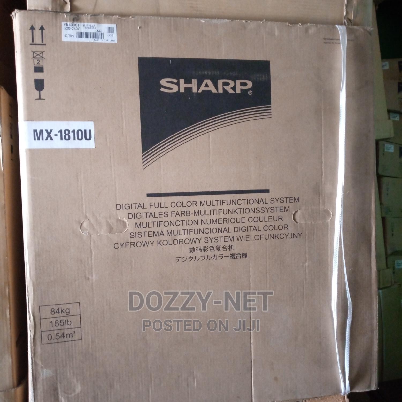 Archive: Sharp Copier MX-1810U