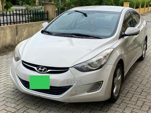 Hyundai Elantra 2013 Gray | Cars for sale in Lagos State, Ikeja