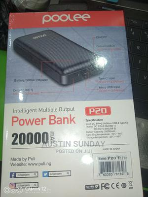 20,000mah Poolee Power Bank | Accessories for Mobile Phones & Tablets for sale in Rivers State, Port-Harcourt