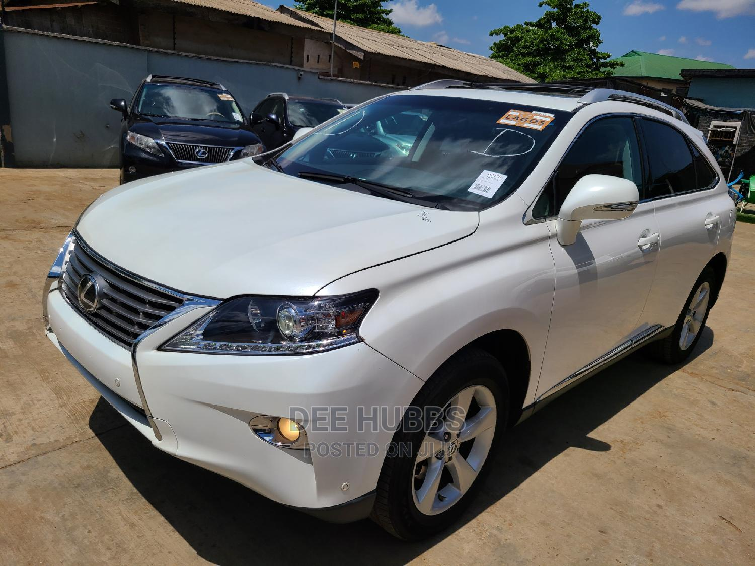 Lexus RX 2013 350 AWD White | Cars for sale in Alimosho, Lagos State, Nigeria