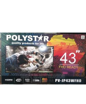 """Polystar 43"""" HD LED TV PV-JP43FHD -43 Inch 