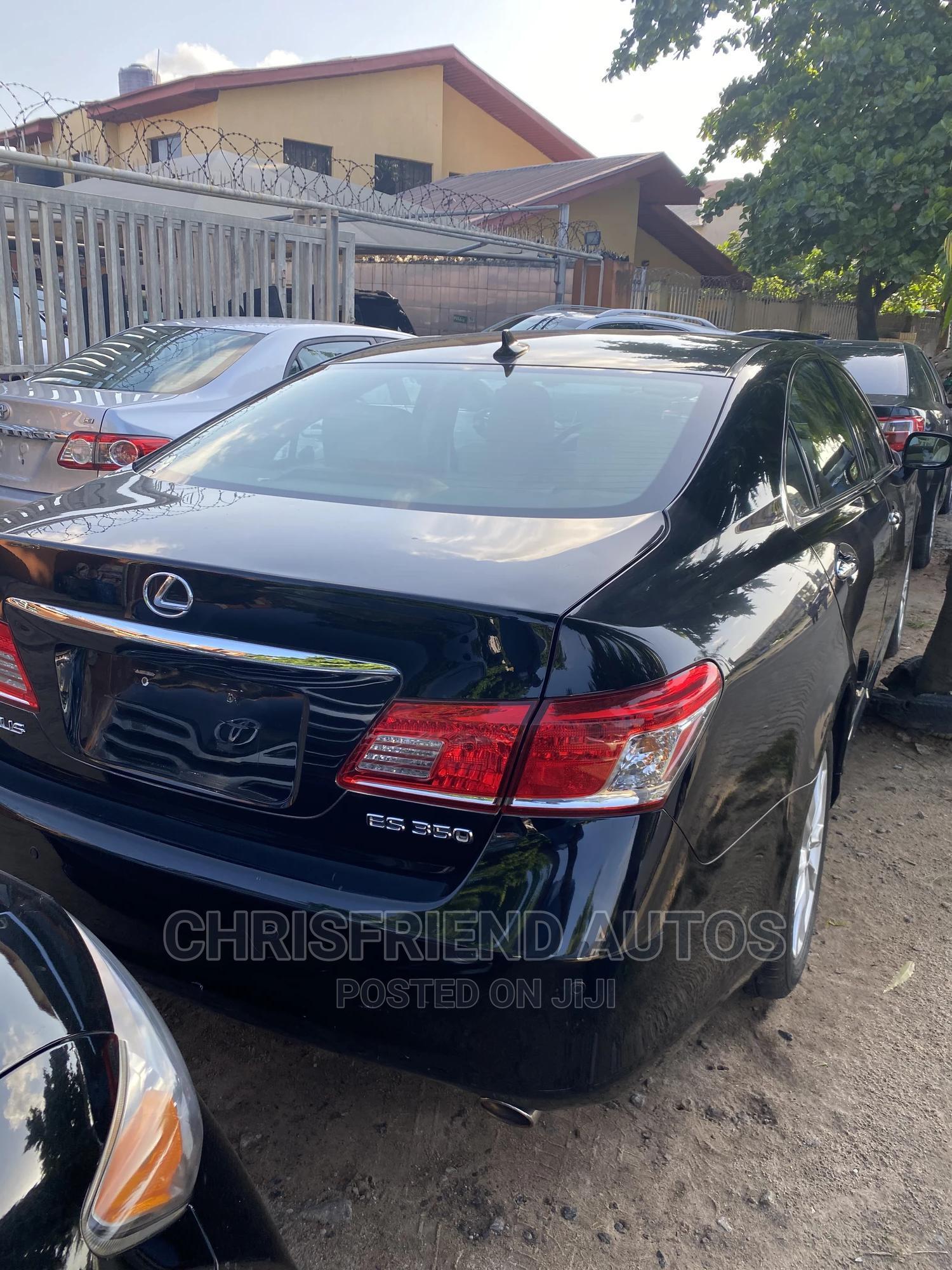 Lexus ES 2011 350 Black | Cars for sale in Surulere, Lagos State, Nigeria