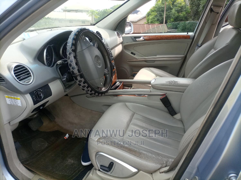 Mercedes-Benz M Class 2008 ML 350 4Matic Blue   Cars for sale in Port-Harcourt, Rivers State, Nigeria