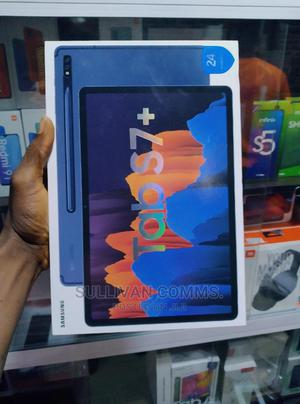 New Samsung Galaxy Tab S7+ 128 GB Silver | Tablets for sale in Lagos State, Ikeja