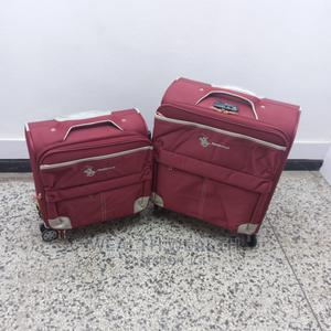 Double Red Swiss Polo Trolley Luggage Bag   Bags for sale in Lagos State, Ikeja