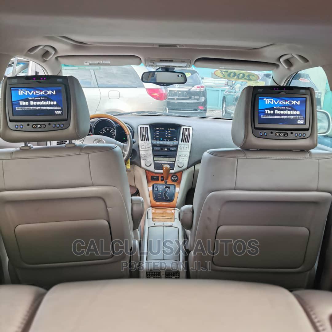 Archive: Lexus RX 2007 350 White