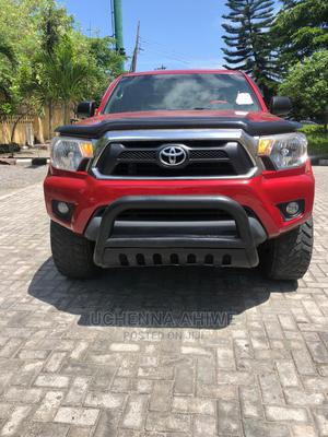 Toyota Tacoma 2012 Double Cab V6 Automatic Red | Cars for sale in Lagos State, Lekki