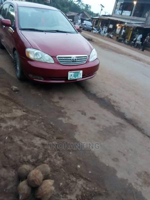 Toyota Corolla 2003 Red   Cars for sale in Enugu State, Enugu