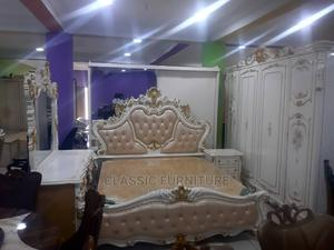 Imported High Quality Turkey Royal Bed With Wardrobe   Furniture for sale in Lagos State, Ojo