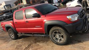 Toyota Tacoma 2012 Double Cab V6 Automatic Red | Cars for sale in Lagos State, Isolo