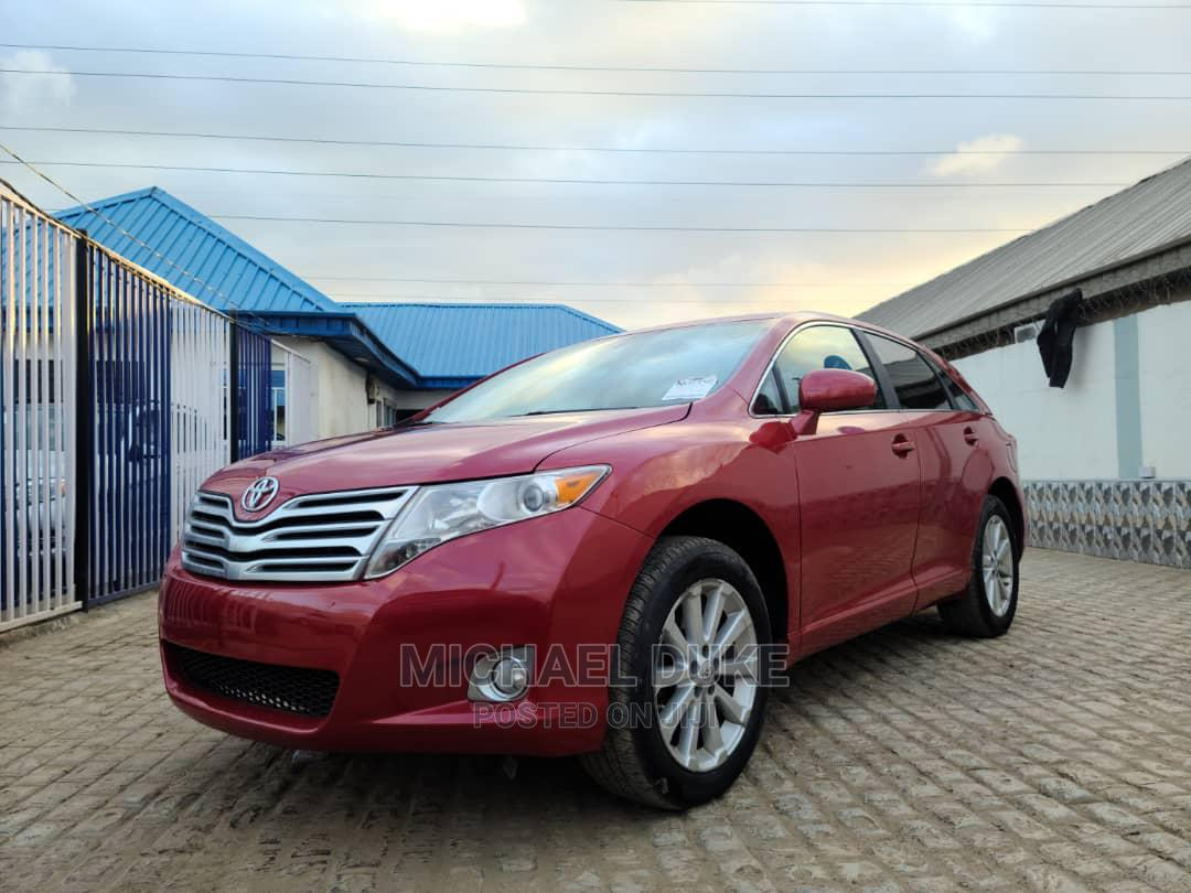 Toyota Venza 2012 AWD Red