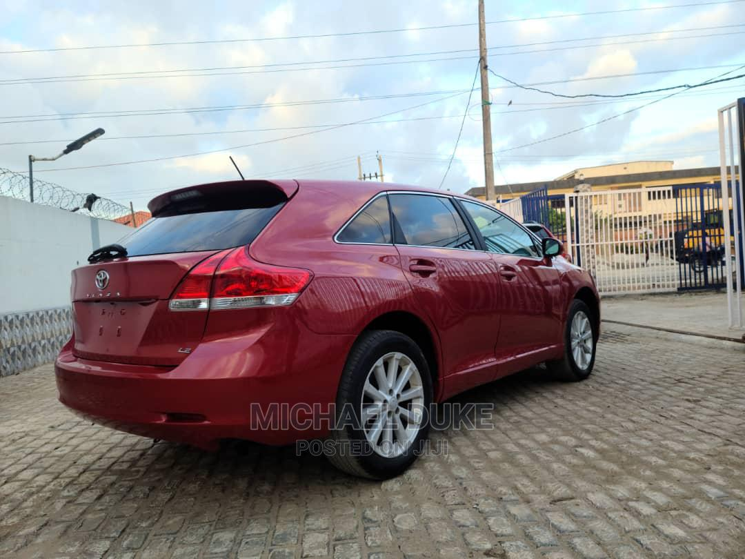 Toyota Venza 2012 AWD Red | Cars for sale in Surulere, Lagos State, Nigeria