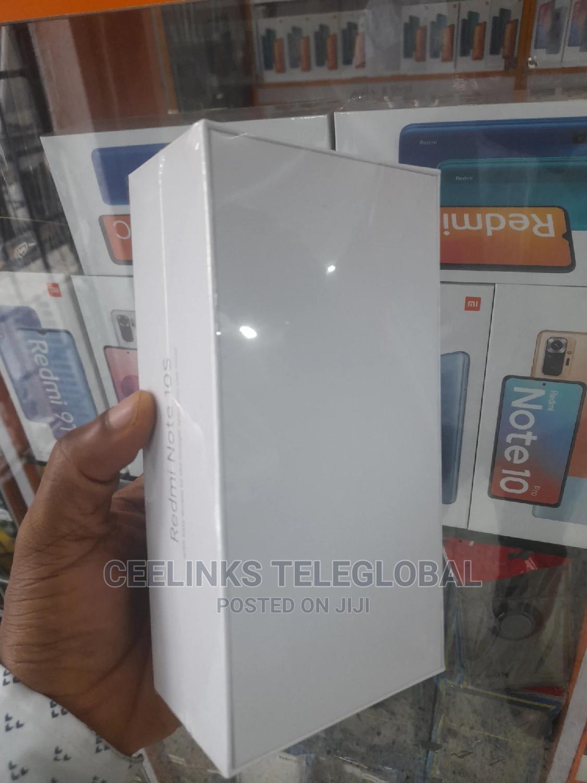 New Xiaomi Redmi Note 10S 128 GB Blue   Mobile Phones for sale in Ikeja, Lagos State, Nigeria