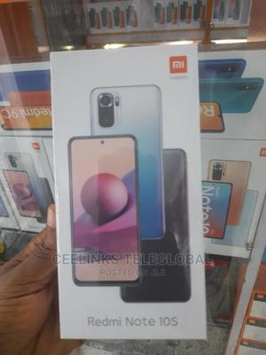 New Xiaomi Redmi Note 10S 128 GB Black | Mobile Phones for sale in Lagos State, Ikeja