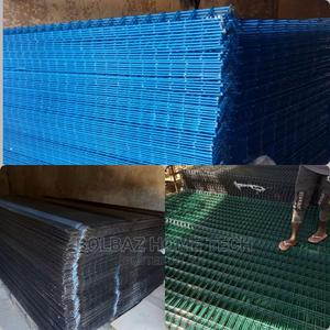 See-Through Fence; Panel Mesh(Green, Blue and Black) | Building Materials for sale in Oyo State, Ibadan